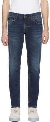 Dolce & Gabbana Blue Classic Fitted Jeans