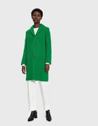 MSGM Textured Wool Coat
