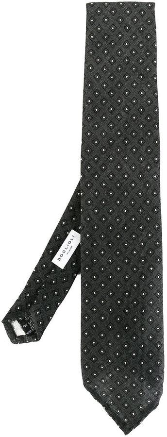 BoglioliBoglioli printed tie