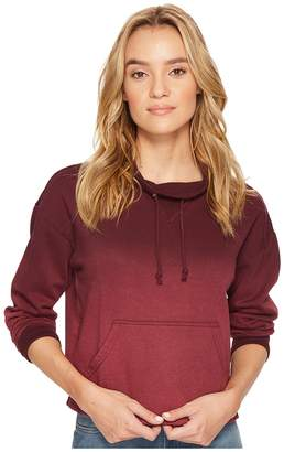 RVCA Smudged Crew Fleece Women's Clothing