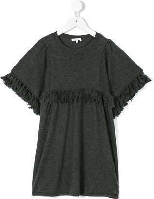 Chloé Kids fringed detail dress
