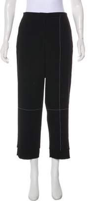 Edun Cropped High-Rise Pants