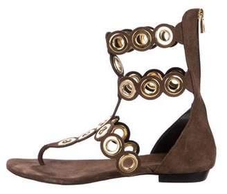 Barbara Bui Embellished Thong Sandals
