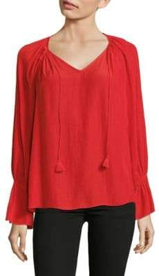 Ramy Brook Flare-Sleeve Top