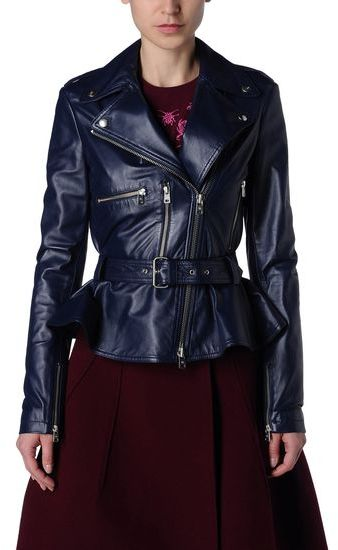 McQ by Alexander McQueen Leather outerwear