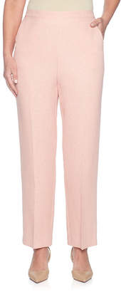 Alfred Dunner La Dolce Vita Flat Front Pants