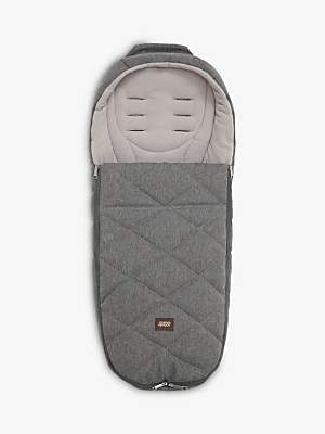 Mamas and Papas Cold Weather Footmuff, Grey Twill