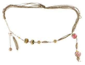 Chanel Precious Symbols Pearl Belt