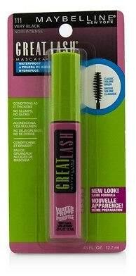 Maybelline NEW Great Lash Waterproof Mascara (#111 Very Black) 12.7ml/0.43oz