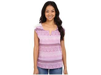 Prana Illiana Top Women's Short Sleeve Pullover