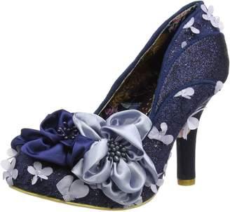 Irregular Choice Womens Peach Melba Textile Shoes 37 EU