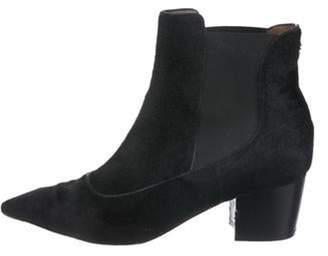 Tabitha Simmons Ponyhair Ankle Boots Black Ponyhair Ankle Boots