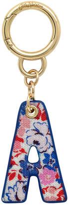 Cath Kidston Mews Ditsy Bag Charm/Key Ring Initial Charm A