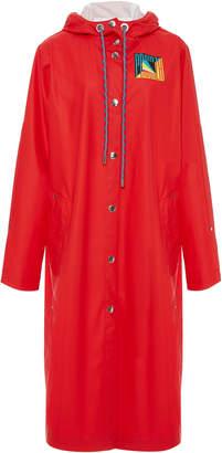 Proenza Schouler PSWL Hooded Rubber Raincoat