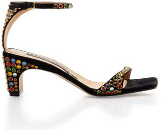 Sergio Rossi SR1 Jeweled Sandal