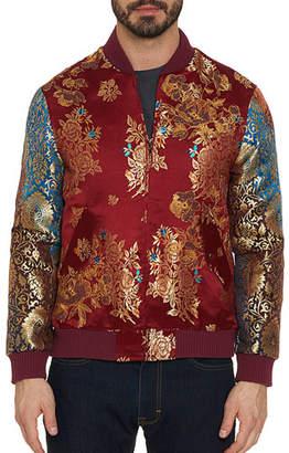 Robert Graham Men's Moser Floral Mosaic Bomber Jacket