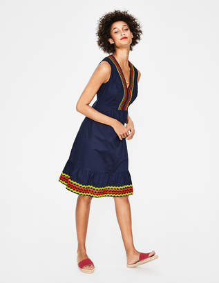 Boden Easy Rickrack Dress
