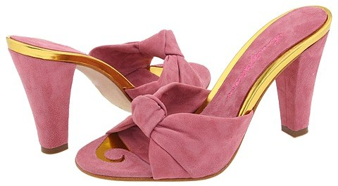 Beverly Feldman - Whimsical (Soft Pink Suede)