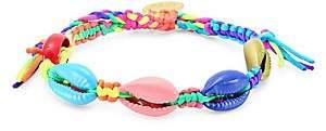 Venessa Arizaga Mini Rainbow Shell Pull-Tie Bracelet