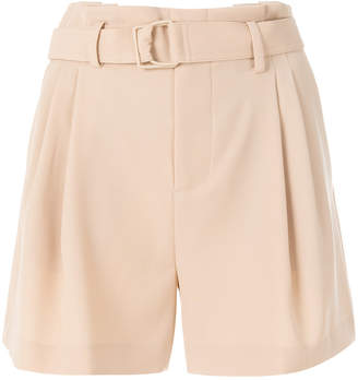 Vince belted tailored shorts