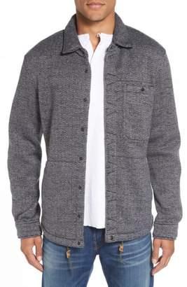 Relwen Herringbone Shirt Jacket