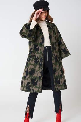 Hannalicious X Na Kd Kimono Sleeve Coat