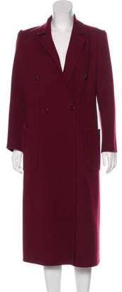 Salvatore Ferragamo Wool Long Coat