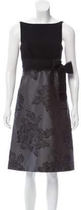 Max Mara Silk-Blend Knee-Length Dress