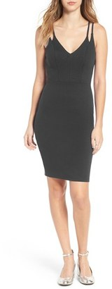Women's Soprano Double Strap Midi Dress $49 thestylecure.com