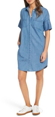 Women's Madewell Courier Denim Shirtdress $98 thestylecure.com