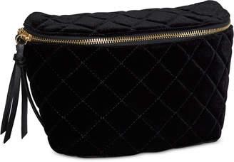 BCBGeneration Quilted Velvet Handbag