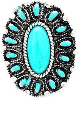 Wild Lilies Jewelry Oval Turquoise Ring