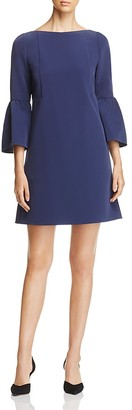 Lafayette 148 New York Marisa Bell Sleeve Dress $498 thestylecure.com