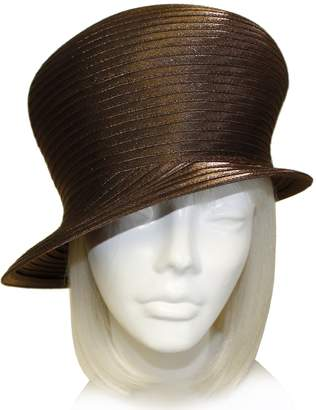 01f4ded0e29 Cloche THE RED HAT SOCIETY Shop by Luke Song Satin-CRIN Bubble Hat Body -