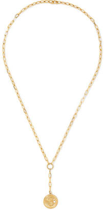Foundrae - Karma 18-karat Gold Diamond Necklace