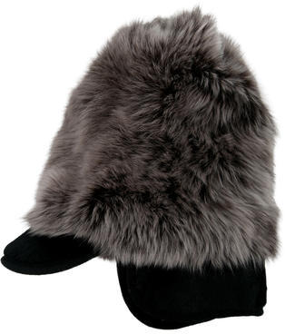Marc By Marc JacobsMarc by Marc Jacobs Two-Tone Fur Hat w/ Tags