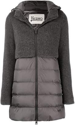 Herno hybrid padded jacket