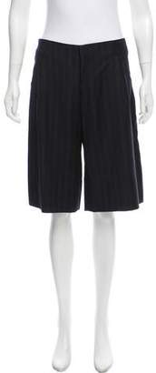 Mayle Pinstripe Tailored Shorts