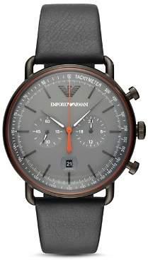 Giorgio Armani Aviator Chronograph, 43mm
