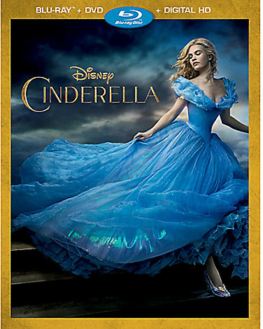 Cinderella Blu-ray Combo Pack - Live Action Film