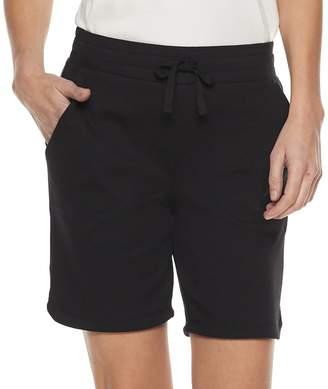Croft & Barrow Petite Pull-On Dolphin Hem Shorts