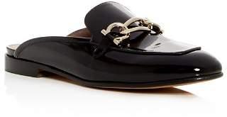 Salvatore Ferragamo Women's Girl Patent Leather Mules