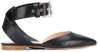 Monse ankle strap ballerinas
