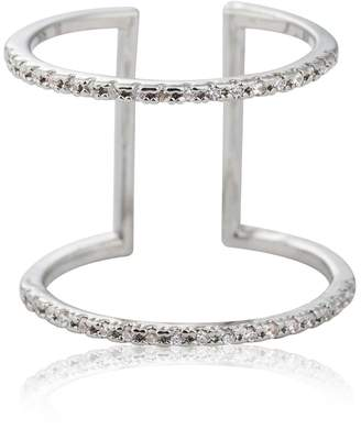 Astrid & Miyu - Double Bewitched Ring In Silver