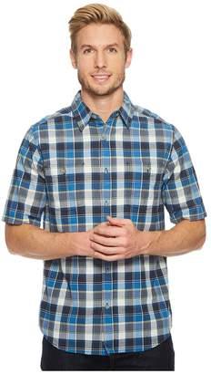 Woolrich Modern Fit Eco Rich Midway Yarn-Dye Shirt Men's Short Sleeve Button Up
