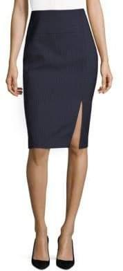 BOSS Pinstriped Pencil Skirt