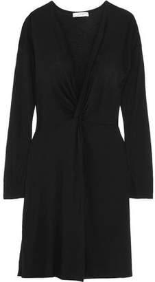 IRO Teiva Knotted Modal-Blend Jersey Mini Dress