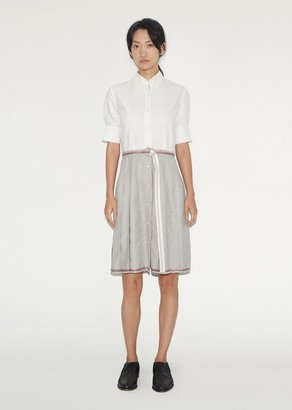 Thom Browne Pleated Shirtdress $1,890 thestylecure.com
