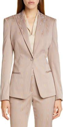 BOSS Jaxtiny Woodgrain Suit Jacket