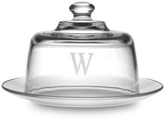 Williams-Sonoma Williams Sonoma Monogrammed Glass Cheese Server